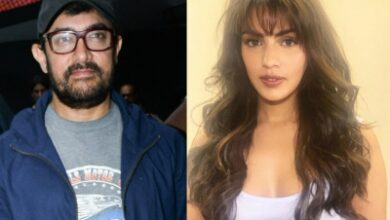 Photo of Rhea called Aamir Khan once, superstar SMSed thrice