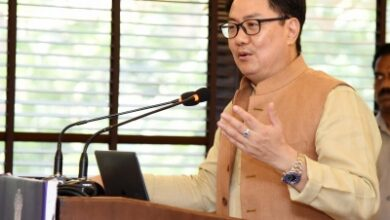 Photo of Rijiju urges states to identify infra for KISCE (Lead)
