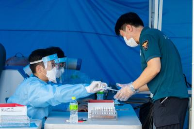 S.Korea reports highest Covid-19 cases since March