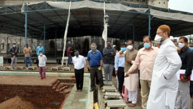 Photo of MIM Chief visits Mecca Masjid to check out renovations