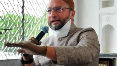 Photo of Owaisi condemns Ayodhya temple 'Bhoomi Pujan'