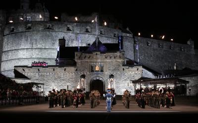 Scotland's Edinburgh Castle reopens