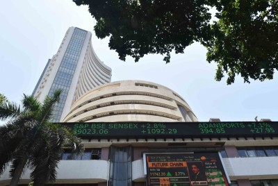 Sensex loses over 400 points, Nifty below 11,000 mark