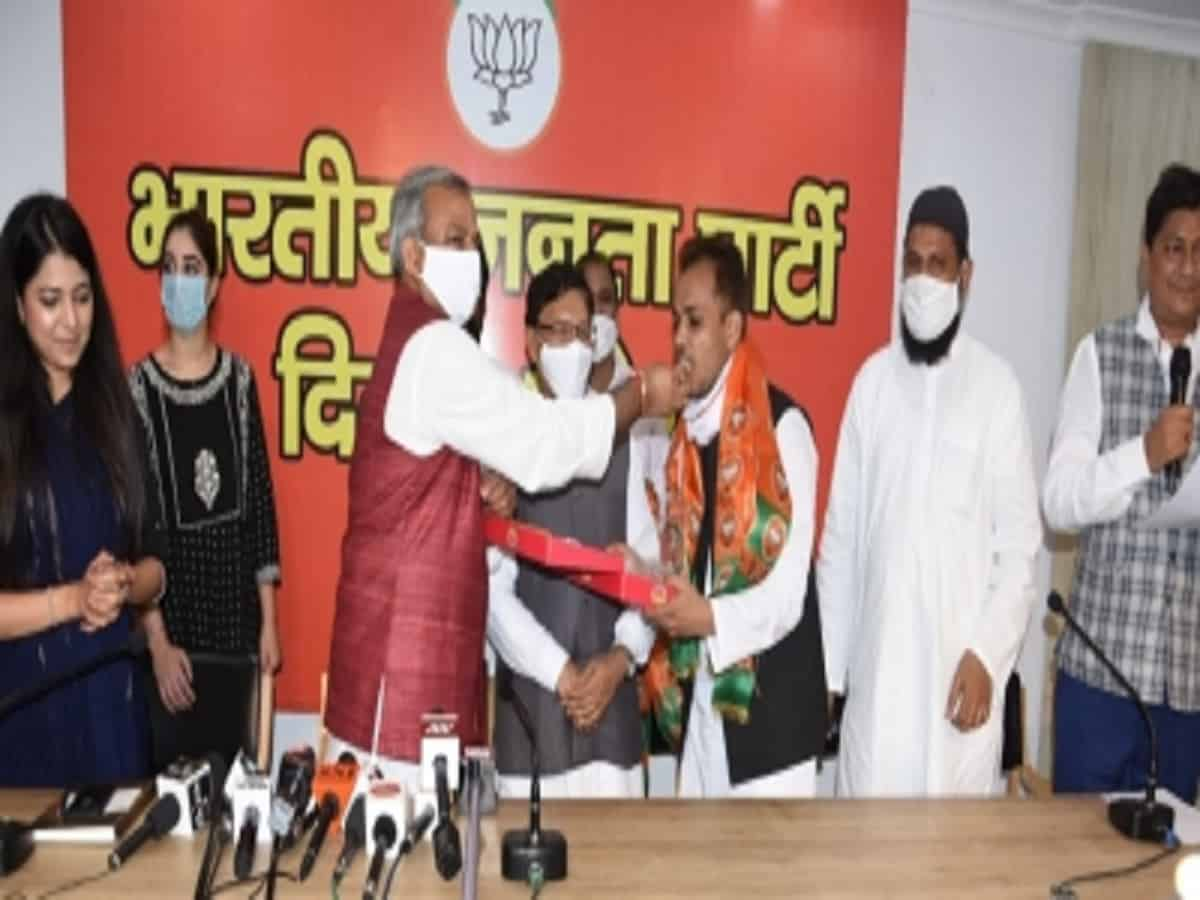 Shaheen Bagh activist joins BJP