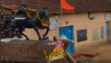 Photo of Maha minister seeks reinstatement of Shivaji statue in Belgaum
