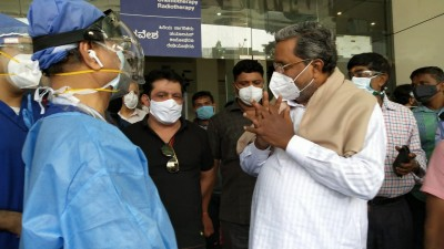 Siddaramaiah discharged from hospital after Covid treatment