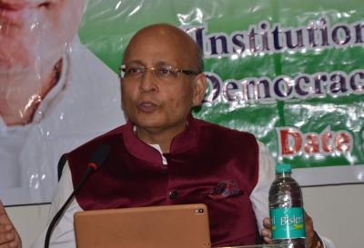 Singhvi advocates aggressive policy to counter China