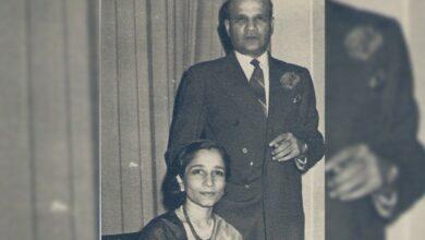 Suraiya Tyabji and Badruddin Tyabji. Credit: Laila Tyabji