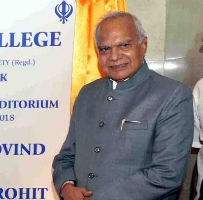 TN Governor Purohit tests Covid positive, advised home quarantine