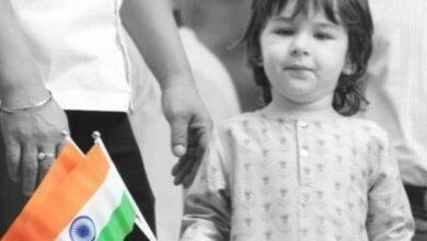 Photo of Kareena shares adorable video of Taimur singing national anthem