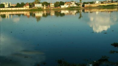 Photo of Taj Mahal dazzles as river Yamuna in spate