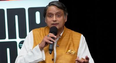 Tharoor gives privilege notice against BJP MP