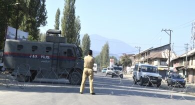 Photo of Two-day curfew in Kashmir ahead of Aug 5 anniversary