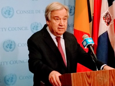 UN chief promotes digital technology in financing for development