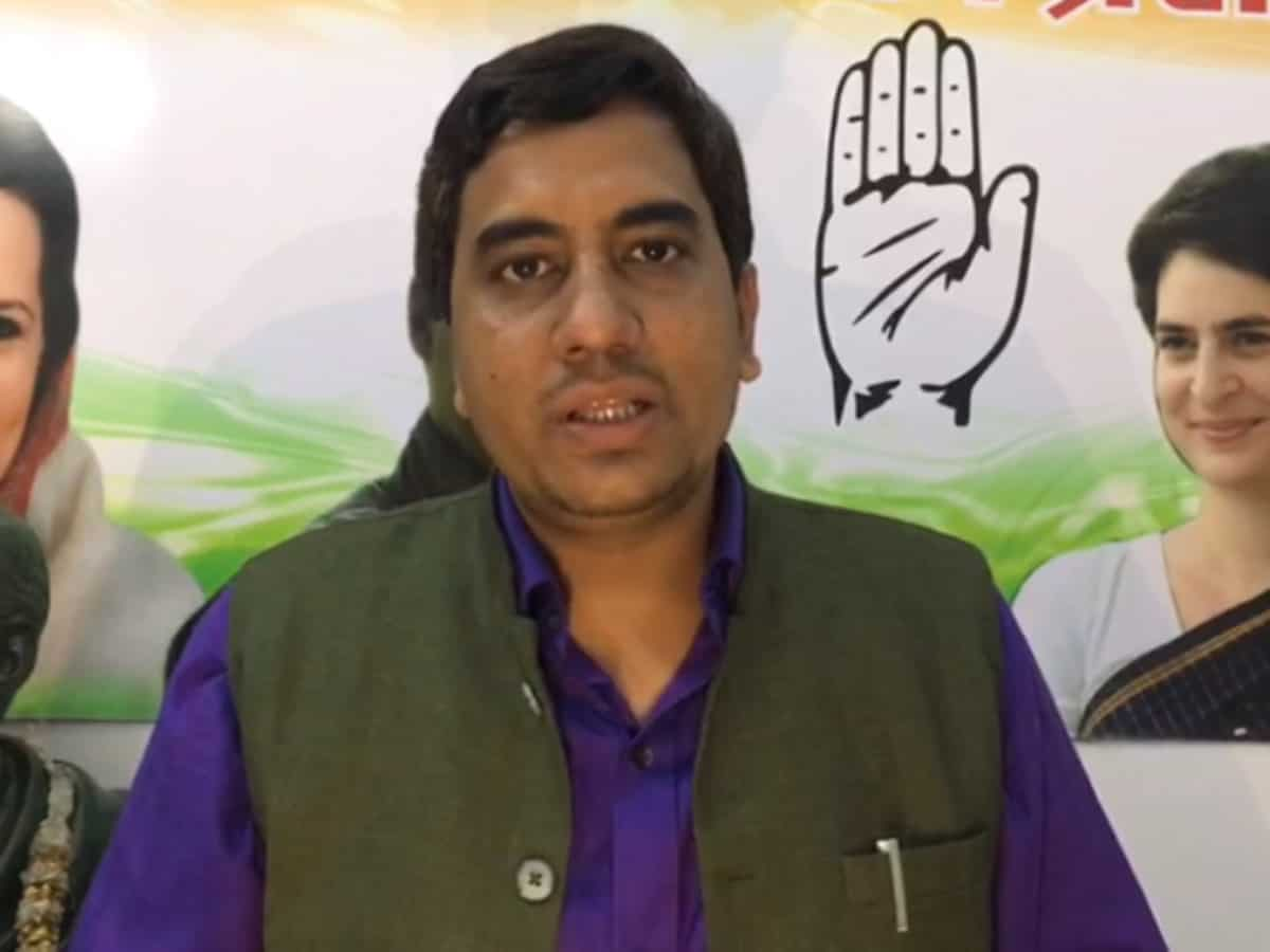 UP Congress leader files complaint over Rajiv Tyagi death