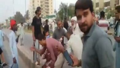 Photo of 40 injured in grenade attack on Jamat-e-Islami rally in Karachi