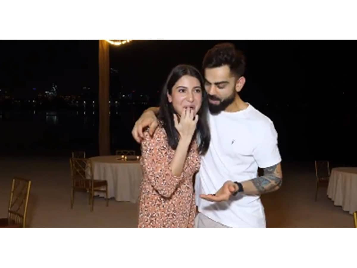 Anushka, Virat celebrate their pregnancy in Dubai with RCB squad