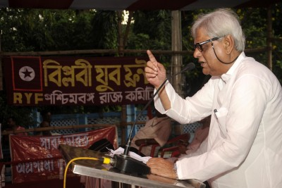 Veteran communist leader Shyamal Chakraborty dies of Covid