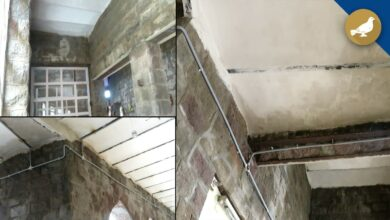 Photo of Water leaks in Mozzamjahi Market walls days after inauguration