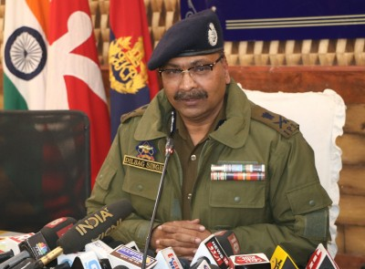 Weapons shortage a big issue for militants in J&K, says DGP (IANS Exclusive)