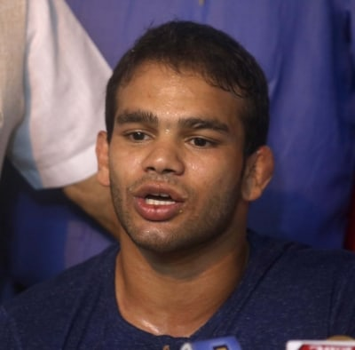 Welcome back Narsingh, says Sushil Kumar