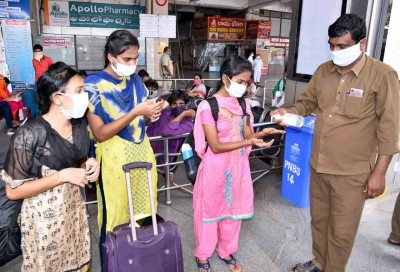 With 7,665 cases on Monday, Andhra Covid tally touches 2.3 lakh mark