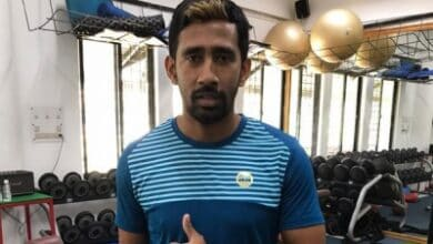 Photo of Wriddhiman Saha in need of 'A negative blood'