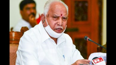Photo of Yediyurappa greets people on bhoomi pujan for Ram Temple in Ayodhya