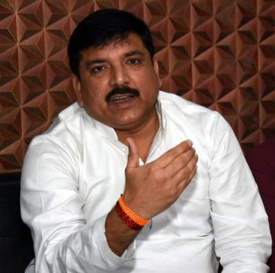 Yogi govt trying to portray me as history-sheeter: Sanjay Singh