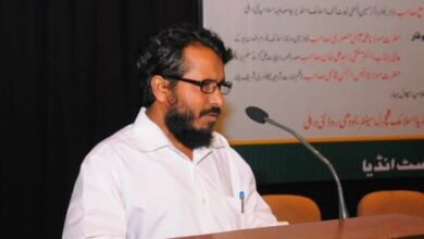 Photo of Urdu journalist succumbs to COVID-19