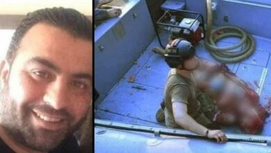 Photo of Port worker found alive at sea 30 hours after Beirut explosion
