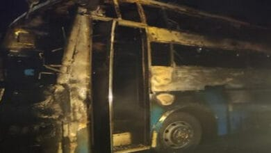 Photo of Karnataka: 5 dead, 27 injured as bus catches fire in Chitradurga