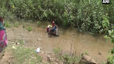 Photo of Chhattisgarh: Villagers forced to drink water from a stream