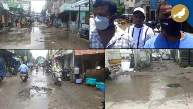 Photo of People facing problems with drainage water overflow on Roads