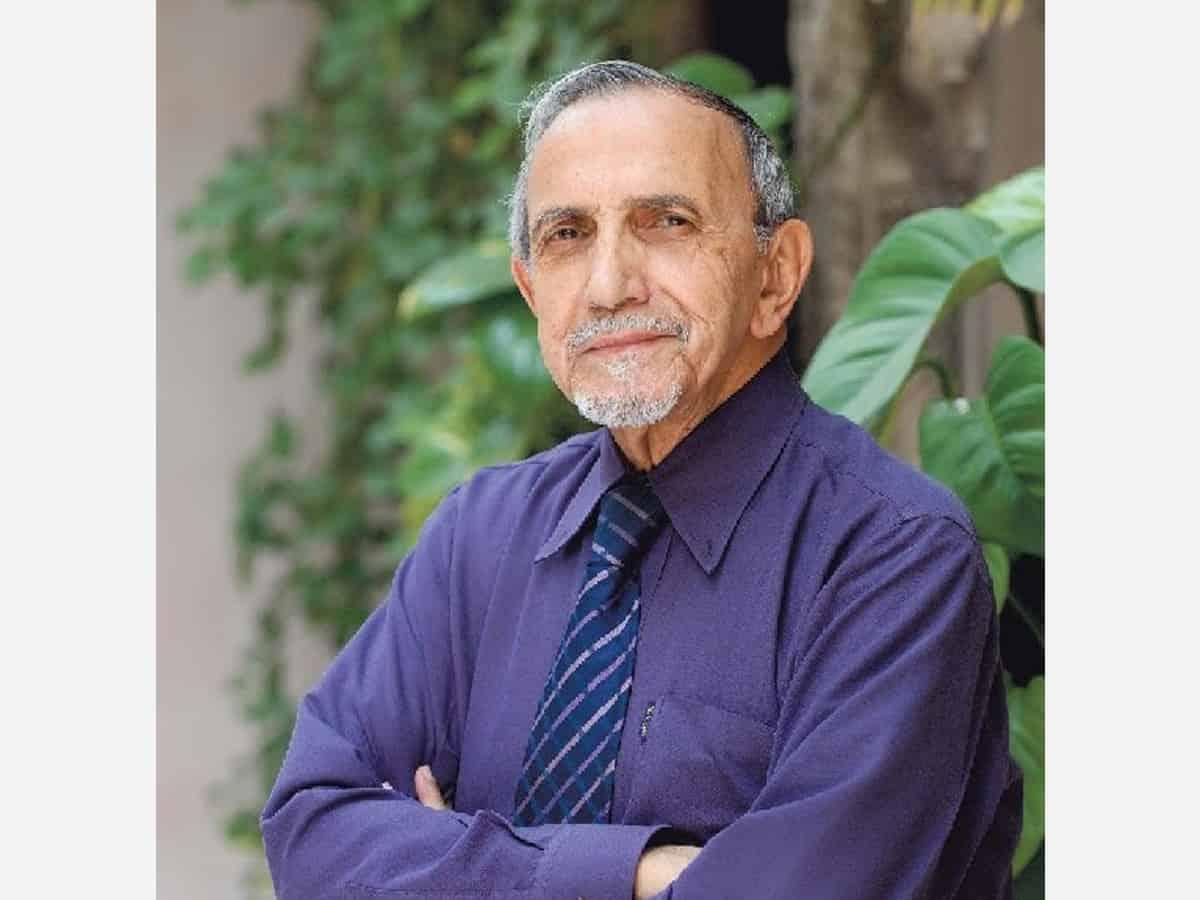 father of modern Indian theatre, Ebrahim Alkaz