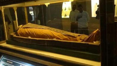 2,400-yr-old mummy in Jaipur enjoys fresh air after 130 years