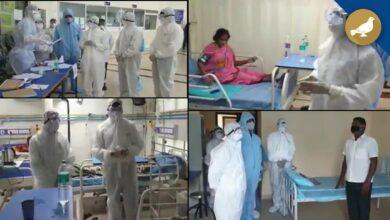 Photo of Hyderabad: Etela Rajender visits TIMS hospital Gachibowli