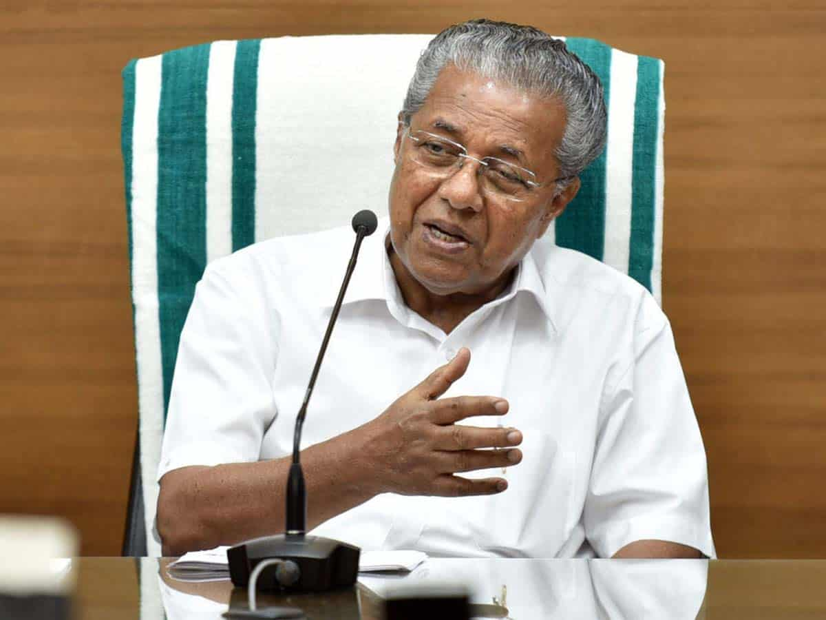 Now, Cong launches online campaign to demand Kerala CM's ouster
