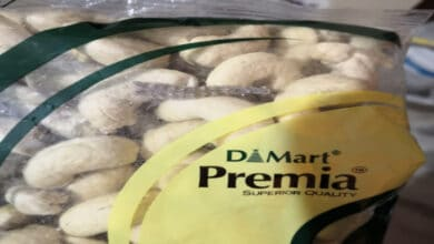 Photo of Lizard tail found in D-Mart cashew nut pack