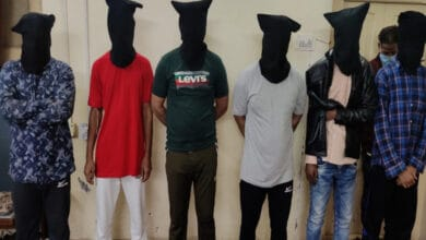 Photo of 7 held in old city history sheeter murder case