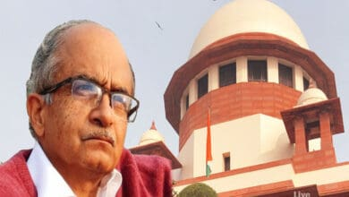 Photo of Prashant Bhushan let off with the fine of Rs 1