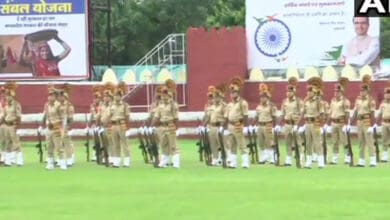 Photo of 74th Independence Day celebration, rehearsals performed at Red Fort