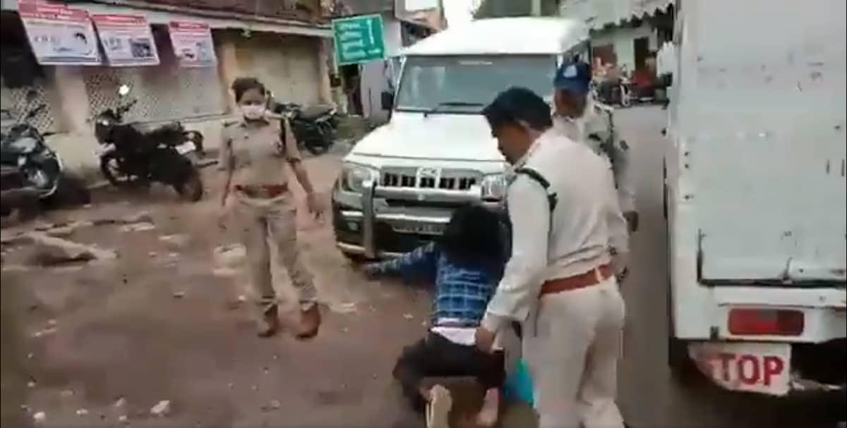 cop drag sikh by hair