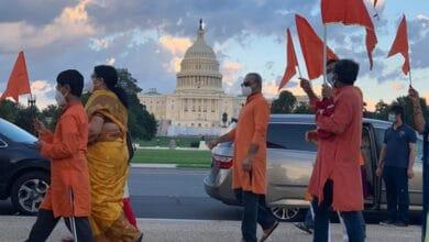 Photo of Indian-Americans celebrate Ayodhya's Bhoomi Pujan in Washington