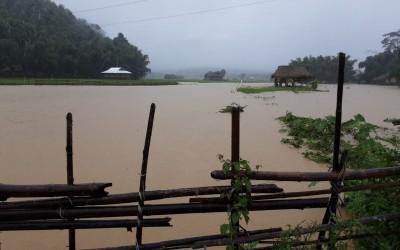 Floods hit 1.79 lakh people in Assam, one dies