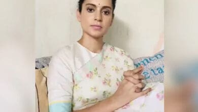 "Photo of Kangana Ranaut responds to Sanjay Raut's ""haramkhor ladki"" remark"