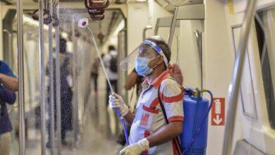 Photo of Preparations ahead of resumption of Delhi Metro
