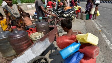 Photo of Water scarcity in Delhi