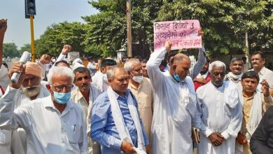 Photo of Farmers intensify protests, water cannons used at activists
