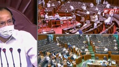 Photo of TRS boycotts Rajya Sabha, wants suspension of 8 MPs cancelled